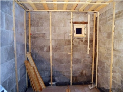 Строительство бани из пеноблока