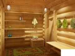 Внутренняя отделка бани