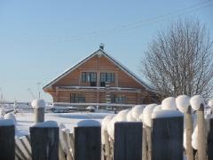 Срубы бань и домов из Карелии