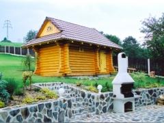 Рубленные дома и бани из Карельского леса